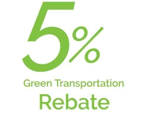 Get a 5% rebate on all electric mobility devices using promo code: codegreen