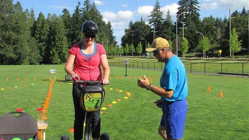 Segway team building fun with Young Professionals Network in Nanaimo