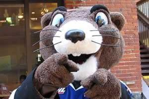 Marty the Marmot loves Segways too