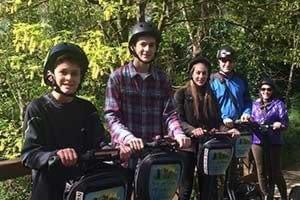 whole family Segway adventure