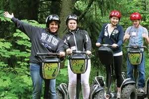 whole family Segway smile with Ride the Glide