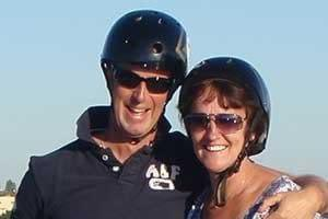 Perfect couples adventure on Segways with Ride the Glide