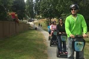 Segway adventure Bowen Park with Ride the Glide