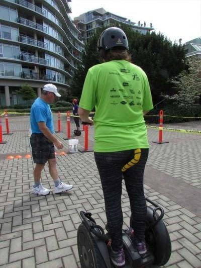 Even people with tails can ride Segways at UrbaCity Victoria 2016