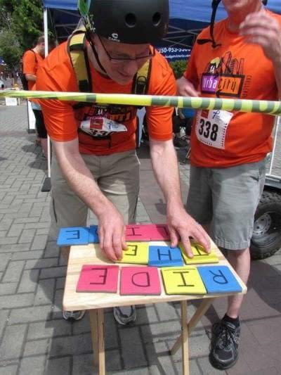 Got the puzzle all figured out at UrbaCity challenge 2016