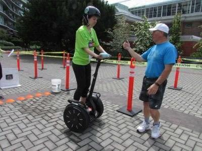 Segways and Sponges oh my! At UrbaCity Challenge 2016