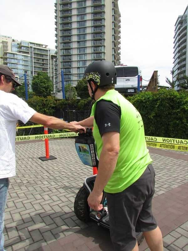 Riding Segways is all about teamwork at UrbaCity Challenge 2016