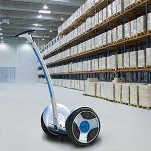 The Ninebot Elite is the ultimate commercial tool, increase productivity with this personal transporter
