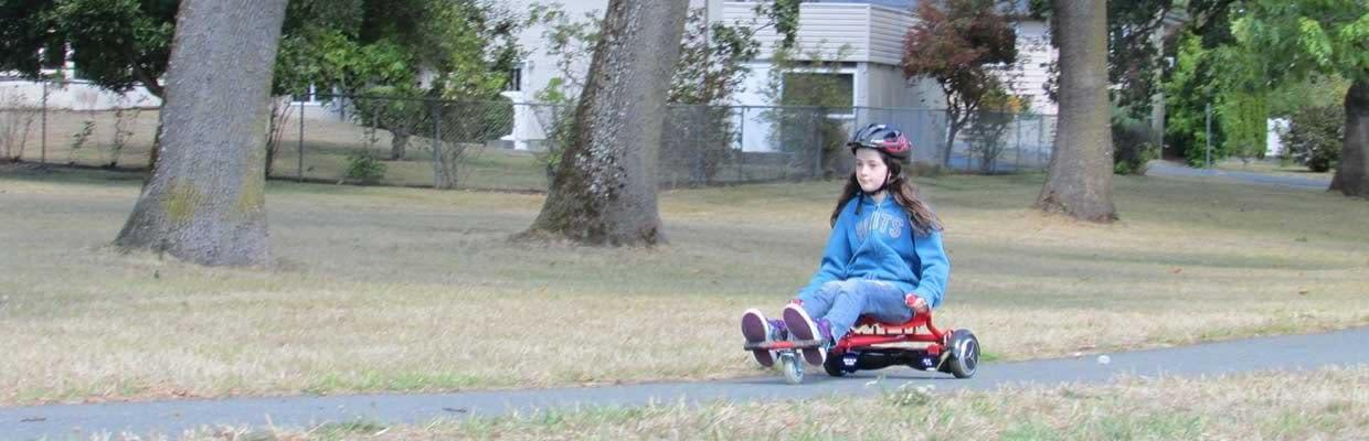 GlideKart by Ride the Glide seat attachment for balance boards