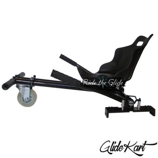 GlideKart - go-kart attachment for hoverboard by Ride the Glide black side profile