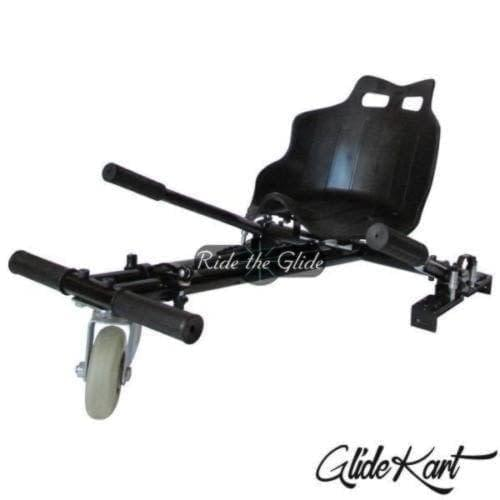 The GlideKart is a seat attachment for your hoverboard to turn it into your very own go-kart