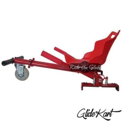 Red GlideKart by Ride the Glide side profile