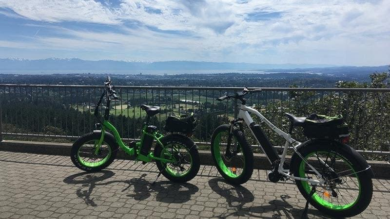 Electric bikes Victoria BC Mount Doug Ride the Glide