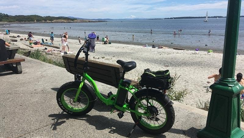 Electric bikes Victoria BC Willows Beach, Ride the Glide