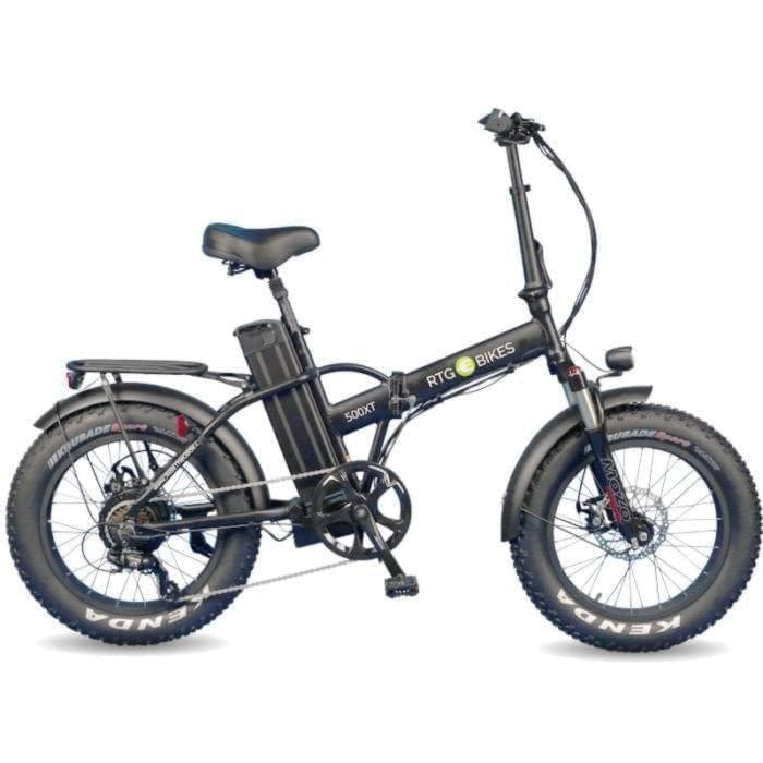 New 500 XT folding electric fat bike by Ride the Glide Victoria BC