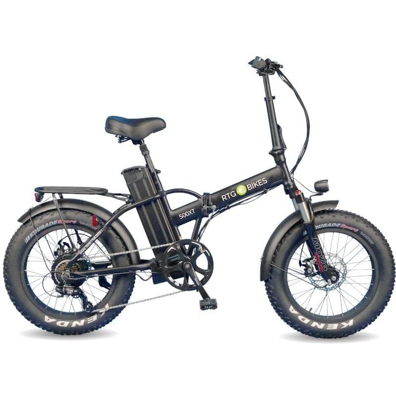 ee4db1a15f1 New 500 XT folding electric fat bike by Ride the Glide Victoria BC