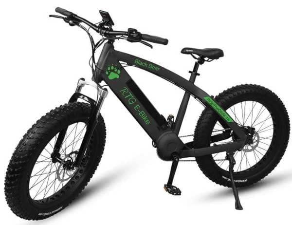 Ride the Glide high performance full size electric fat bike