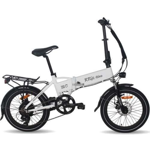 folding electric city bike, the 350 CT by Ride the Glide in Victoria BC