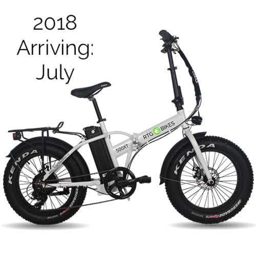 Folding electric fat bike, the 500 XT by Ride the Glide in Victoria BC New 2018 models arriving July 2018