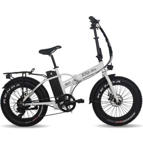 Folding electric fat bike, the 500 XT by Ride the Glide in Victoria BC
