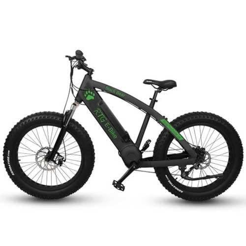 High performance electric fat bike, Ride the Glide's Black Bear