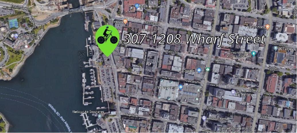 307-1208 Wharf Street Map