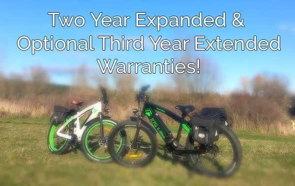 New two year expanded warranty and optional third year extended warranty