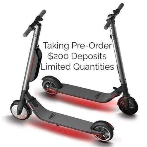 Ninebot ES2 and ES4 Electric Kickscooter pre-orders in Canada, now taking deposits
