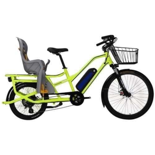 Electric longtail cargo bike, the Cargoroo by Ride the Glide