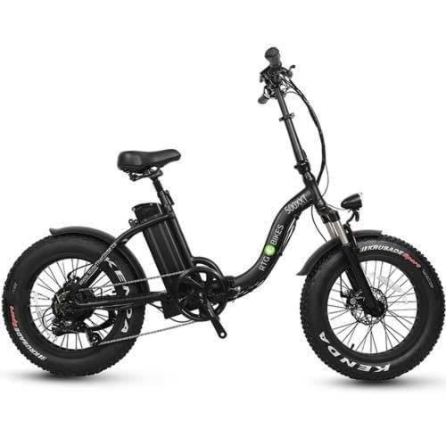 Fat folding step through electric bike 500 XXT by Ride the Glide