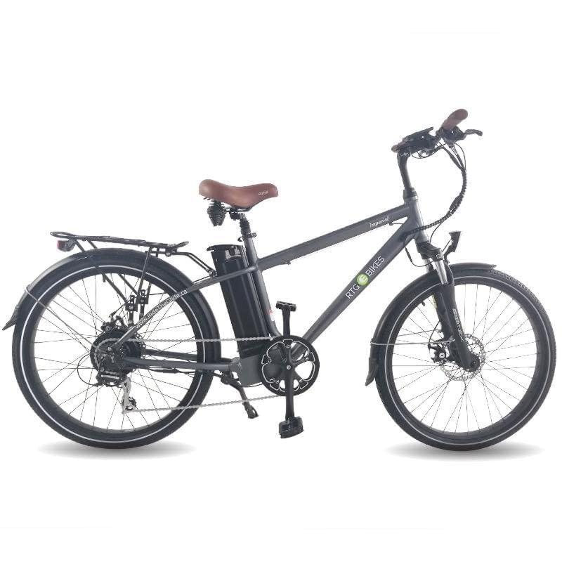 Imperial city commuter e-bike perfect for city commutes, 2019 gunmetal grey by Ride the Glide Victoria BC