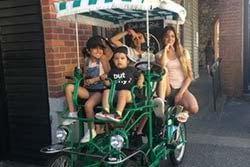 Pedal Coach family pedal car rentals victoria bc