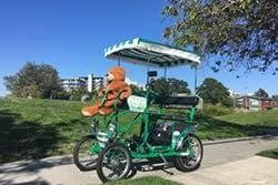 Pedal Coach group pedal car rentals victoria bc