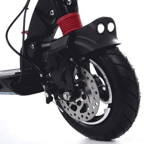 Zero 9 electric scooter front disc brake, Ride the Glide, Canada