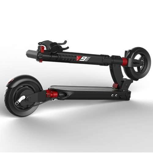 Zero 9 electric scooter folded Ride the Glide in Canada