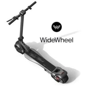 WideWheel electric scooter Ride the Glide Victoria Canada