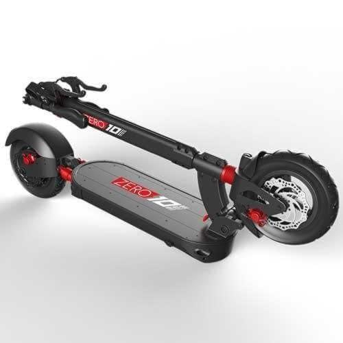 Zero 10 electric scooter folded Ride the Glide in Canada