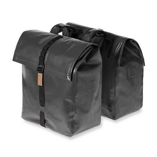 Basil Urban Dry Double Bag 50L capacity, bike accessories