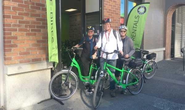 Try before you buy electric bike rentals at Ride the Glide