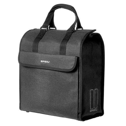 Basil Mira Shopper Bag 16-20L capacity, bike accessories