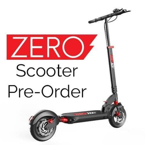 Zero Electric Scooter Pre-Order Canada. Pre-order Zero 9, Zero 10 and Zero 10X