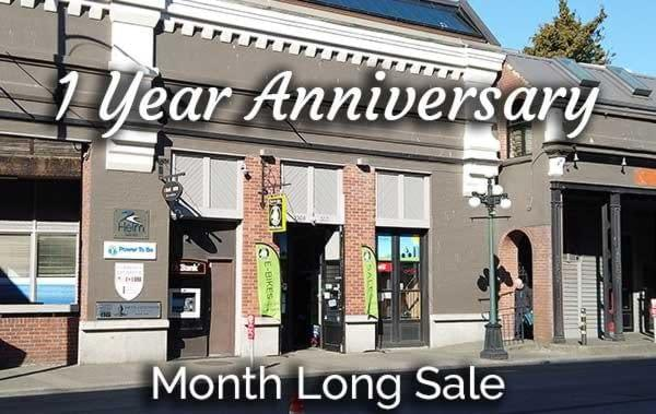 It's Ride the Glide's one year anniversary is this April! And we are celebrating by with a sale!