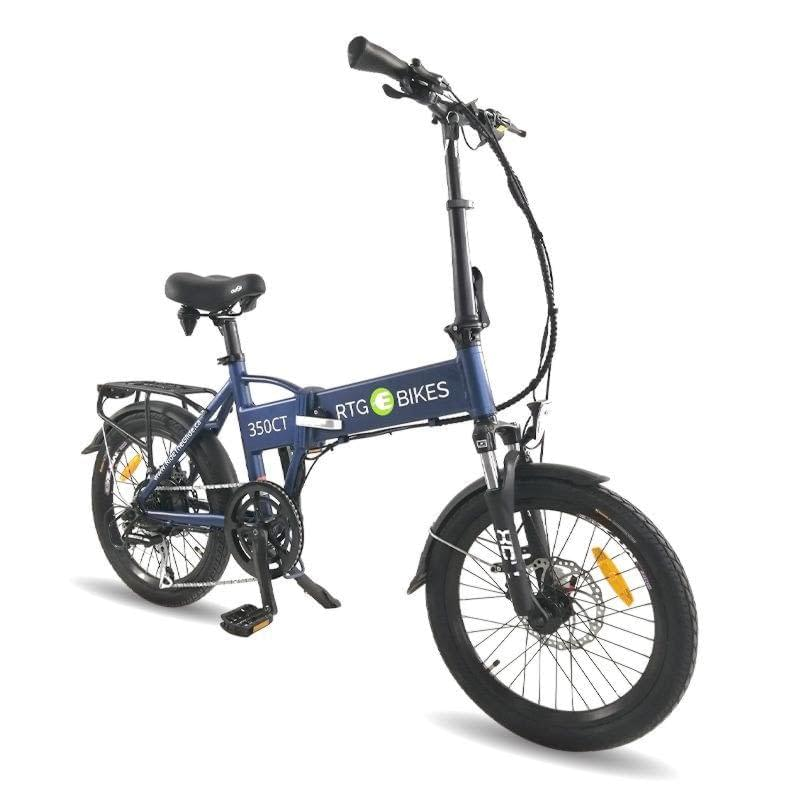 Folding electric bike, 350 CT new 2019 blue, Ride the Glide Ride Electrified