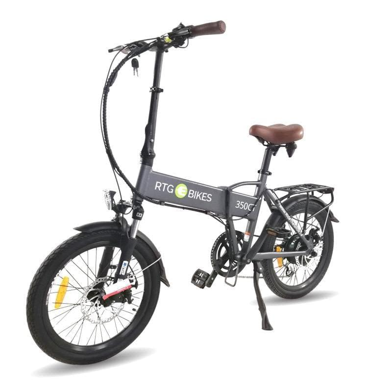 Folding electric bike, 350 CT new 2019 gunmetal grey, Ride the Glide Ride Electrified