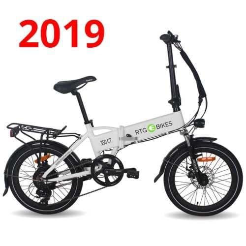 New 2019 350 CT folding electric bike by Ride the Glide Electric Bikes Victoria BC