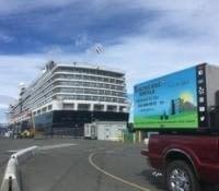 Electric bike rental delivered to Ogden Point cruise ship terminal with Ride the Glide