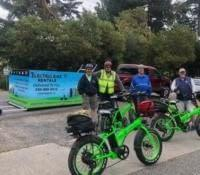 Residential delivery of electric bikes by Ride the Glide