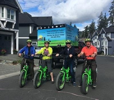 Residential electric bike rental delivery by Ride the Glide