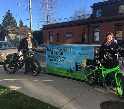 Electric bike rental delivered to the Worldmark Victoria by Ride the Glide