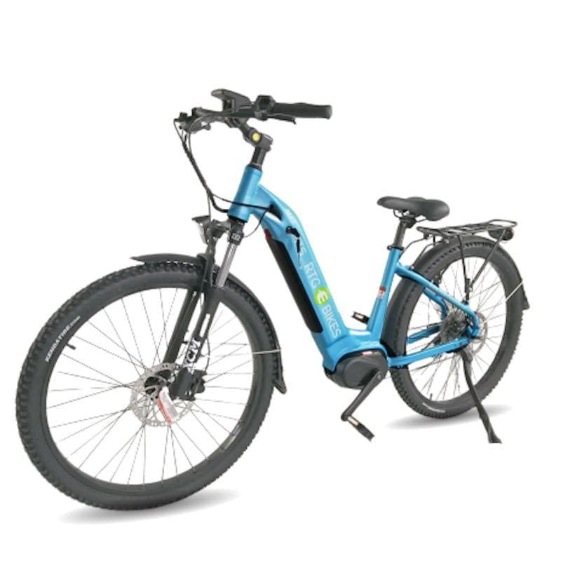 MTS Max, mid-drive step through electric mountain bike by Ride the Glide Ride Electrified